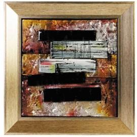 Картина стеклянная Авангард 30х30 см