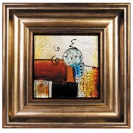 Картина стеклянная Акцент 32х32 см