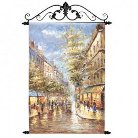 Картина Осенний Париж 60х90 см