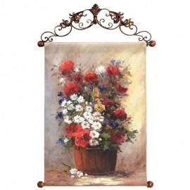 Картина Полевые цветы 60х90 см