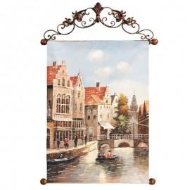 Картина Старый Амстердам 60х90 см