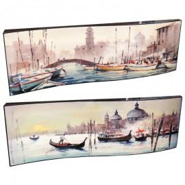 Картина Венеция 29х87см (пара)