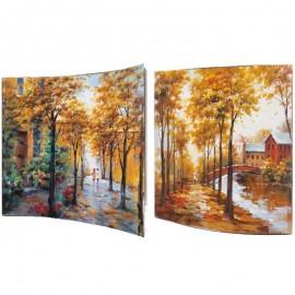 Картина Осенний пейзаж 58х58 см (пара)