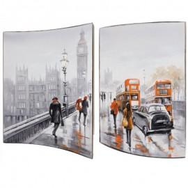 Картина Мосты Лондона 41X51 см (пара)