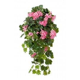 Герань ампельная ярко-розовая 65 см