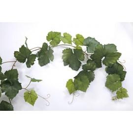 Виноградная гирлянда зеленая 230 см