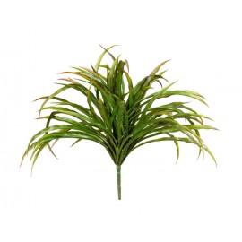 Трава куст Ванилла Грасс зеленая с бордо 20 см