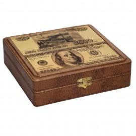 Шкатулка для денег Рубли-Доллары