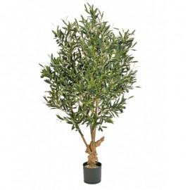 Олива Твист натуральная с плодами 150 см