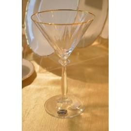 Бокалы для мартини Анжела 20733 285 мл. 6 шт. Crystalex Bohemia