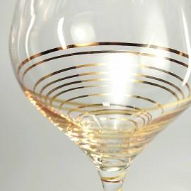 Бокалы для вина Аморосо M8441 350 мл. 2 шт. Crystalex Bohemia