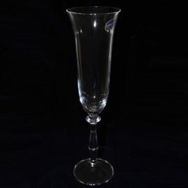 Бокал для шампанского Анжела 40600/190 объёмом 190 мл. 6 шт. Crystalex Bohemia