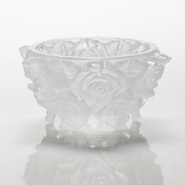 Подсвечник Роза фрост 16,5 см
