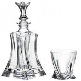 Набор для виски Флорал графин и 4 ст.