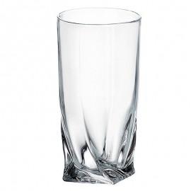 Набор стаканов (6 шт) для воды Квадро 350 мл