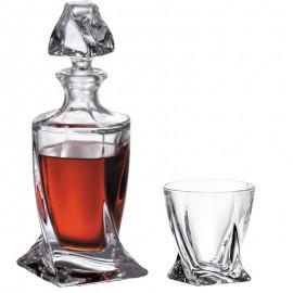 Набор для виски Квадро графин и 6 ст. 340 мл