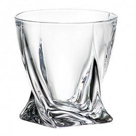 Набор стаканов для виски Квадро 340 мл