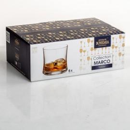 Стаканы для виски 400 мл. Марко БУТЕО Охота 6 шт
