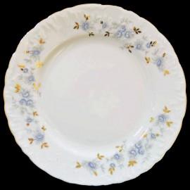 Тарелка десертная 19 см. (набор) Rococo 9706 blue