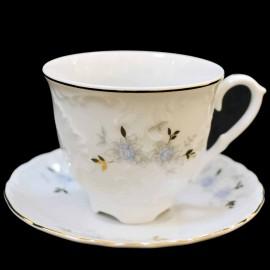 Кофейная пара (6 предметов) Rococo 9706 blue